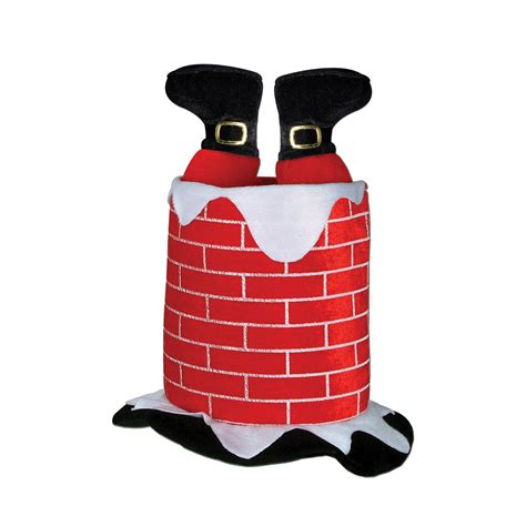 Chimney Hat With Santa - hats and dressup supplies canada open a