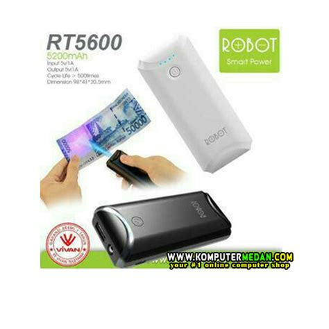 Power Bank Robot 13000mah robot rt310 13000mah 2 usb ports power bank komputermedan