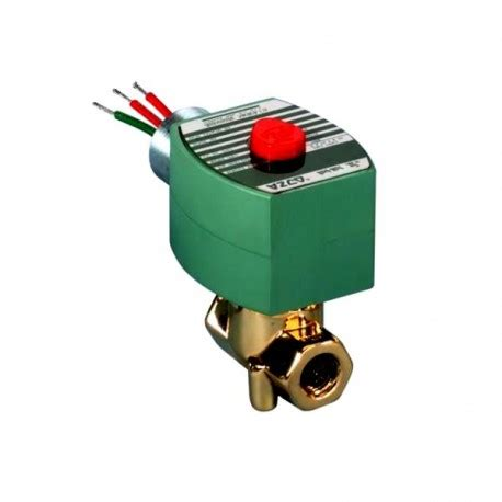 Dwyer Sbsv B5n2 Brass Solenoid Valves 2 Way Guided Nc asco 8263h210 2 way brass solenoid valve size 3 8 in voltage 120 60 110 50 ac normally closed