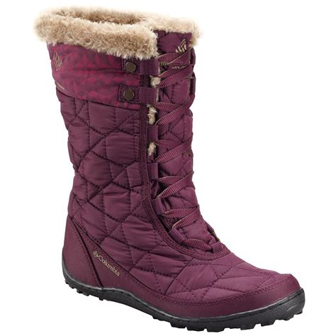 columbia boots columbia minx mid ii omni heat boot s ebay