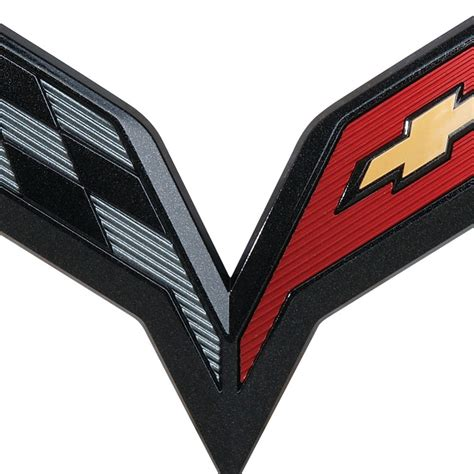 c7 corvette emblem 2014 corvette stingray emblem autos post