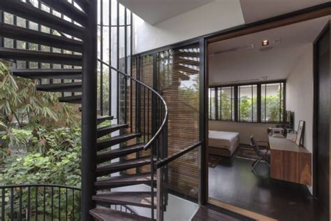 nature house design nature house with spiral staircases