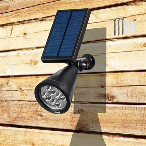 outdoor solar wall lights solar powered outdoor wall light for path garden landscape