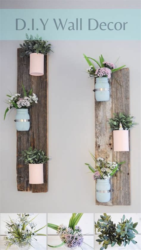 barn wood home decor 25 best ideas about flower wall decor on
