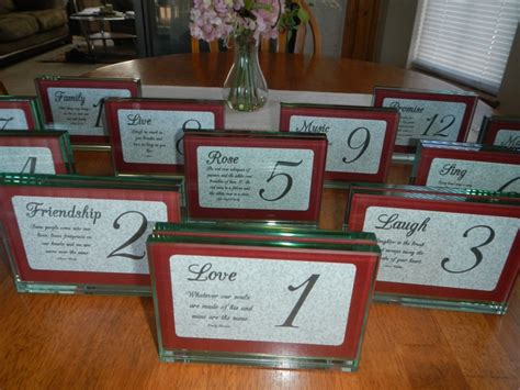 hobby lobby table numbers pin by constable wallace on wedding ideas now for