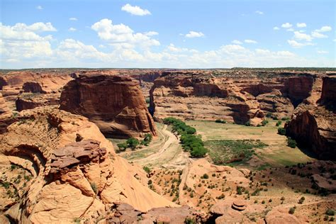 Building A Home In Michigan by Roadbots Canyon De Chelly National Monument