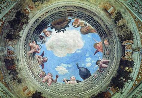 Italian Artist Who Painted The Ceiling Of The Sistine Chapel andrea mantegna and his worms eye view of perspective