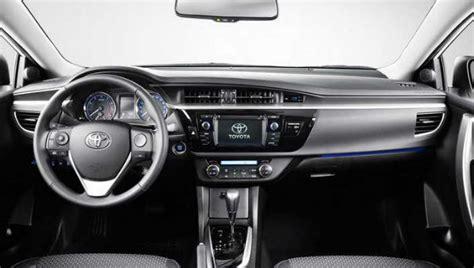 2015 Corolla Interior by 2015 Corolla Redesign Autos Post