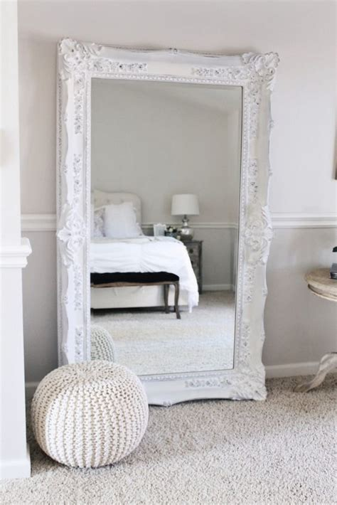 mirror ideas for bedrooms ornate floor mirror bedroom pinterest bedroom decor