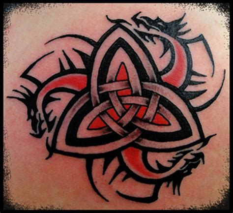 celtic trinity tattoo designs celtic dragons knot viking nordic pagan