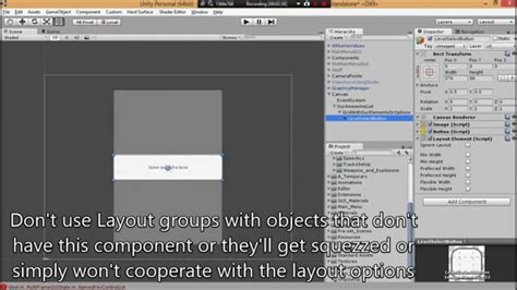 unity r layout unity ui tutorial how to make a scrollable list youtube
