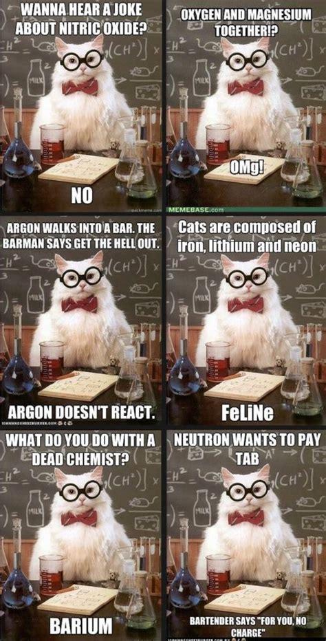 Chemistry Dog Meme - funny chemistry cat meme