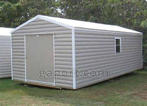 8x10 Steel Shed by Storage Sheds Can Get Your Car Back In The Garage Where It