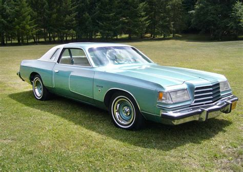 green dodge magnum mint green goodness 1979 dodge magnum xe