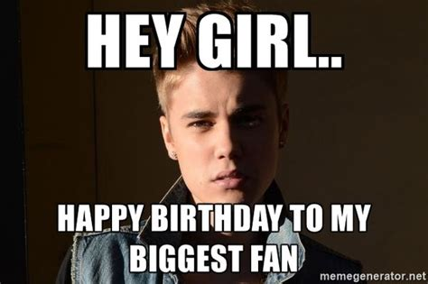 Justin Bieber Birthday Meme - happy birthday memes images about birthday for everyone