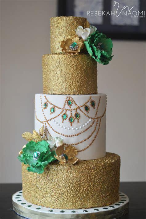 Emerald Anniversary Cake   cake by Rebekah Naomi Cake
