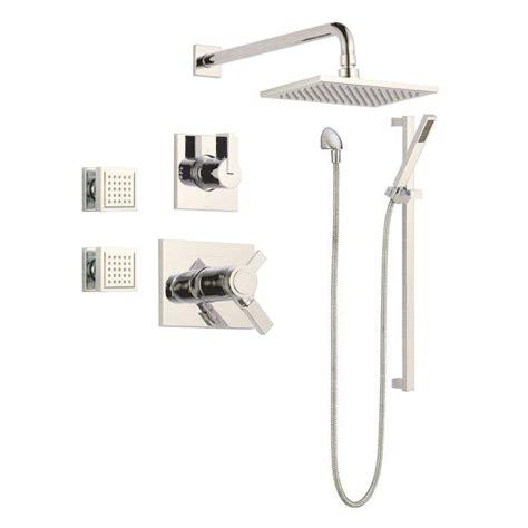 Delta Vero Shower by Delta Vero Tempassure Shower Package Shower System Build