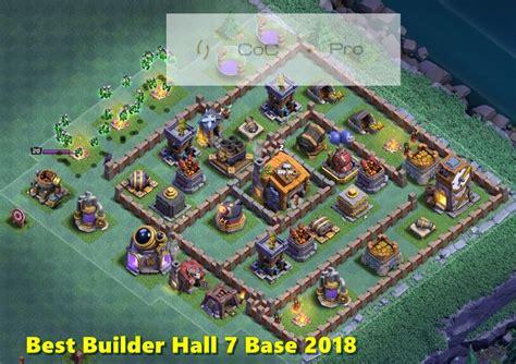 coc layout star best un defeatable builder hall bh7 base anti 1 star
