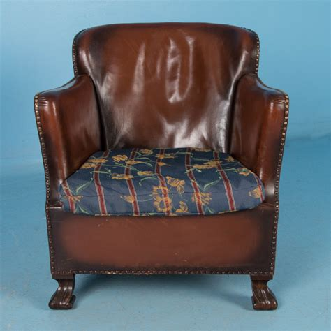 vintage leather armchair ebay pair of vintage danish leather club chairs ebay