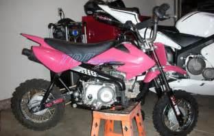 Pinkes Motorrad 125 by Pink Crf 50 Plastics Fairing Kit Bike For Atomik Thumpstar