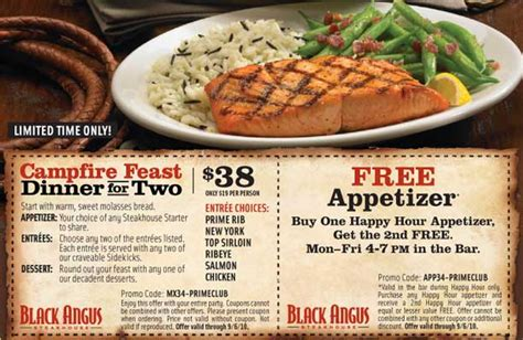 black angus steakhouse coupons promo codes 2016 black angus coupons newhairstylesformen2014 com