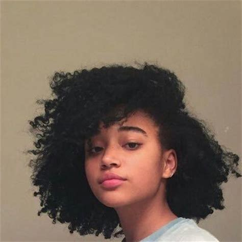 medium length afro caribbean curly hair styles best 25 amandla stenberg ideas on pinterest amandla
