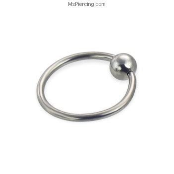 how to put on a captive bead ring captive bead ring 16 ga at mspiercing