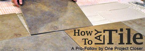 How To Level A Floor For Tile by How To Level A Subfloor Before Laying Tile One Project