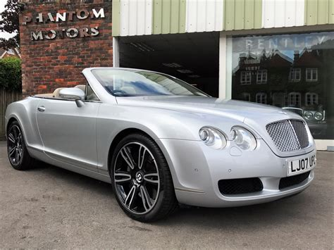 phantom bentley bentley continental gtc 2007 phantom motor cars ltd