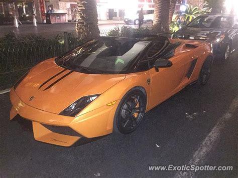 Las Vegas Lamborghini Lamborghini Gallardo Spotted In Las Vegas Nevada On 02 19