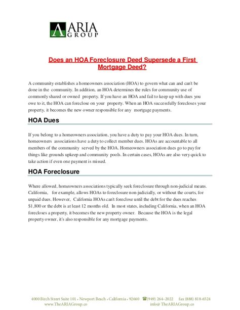 Financial Dues Letter Financial Hoa