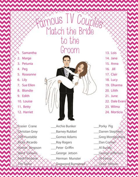 bridal shower free printables couples bridal shower tv couples printable showers bridal shower and