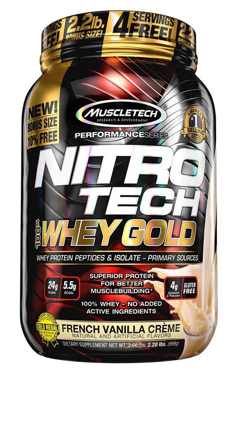 Nitro Tech Whey Isolate muscletech nitrotech whey gold 100 whey