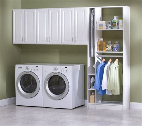 Garage Laundry Area A Collection Of Other Ideas To Try Laundry Room Wall Storage