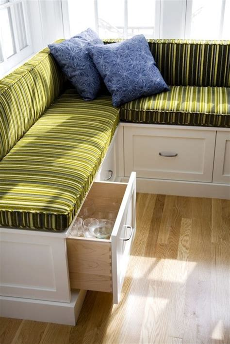 storage banquette nooks green colors and built ins on pinterest