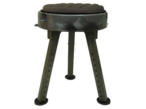 Swivel Blind Stool by Quake Bull Seat All Terrain Blind Stool Chair
