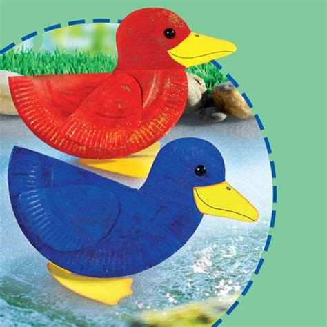 Paper Duck Craft - 1000 images about paper plate crafts on paper