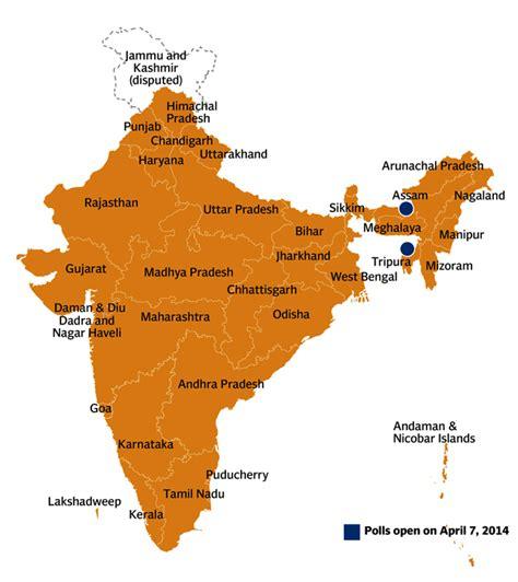 biggest swing states india votes biggest democratic exercise begins today