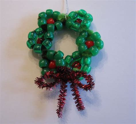 s day craft beaded ornaments