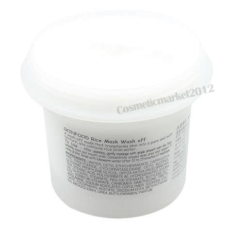 The Skinfood Rice Mask Wash skinfood skin food rice mask wash 100g free gifts ebay