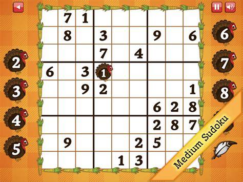 printable thanksgiving sudoku puzzles medium thanksgiving sudoku full windows 7 screenshot
