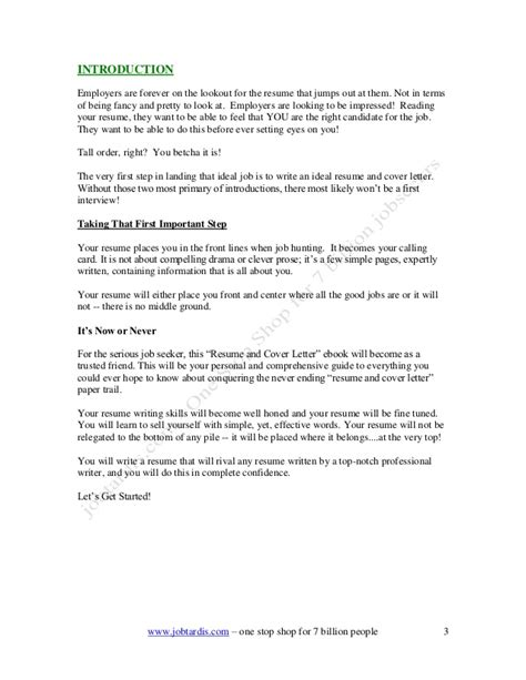 How to Write A Cover Letter of Interest Example for A Job