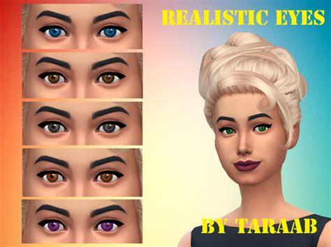 sims 4 realistic eyes taraab s realistic eyes