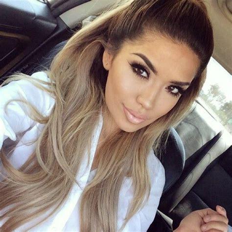 hair color weaves brown blonde pics 126 best dip dye hair extensions images on pinterest dip