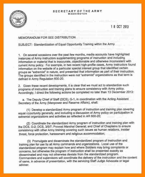 Find In The Army Army Memo Army Memorandum Templates Find Word Templates Army Memorandum For Record