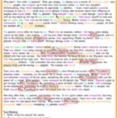 text marking an autobiography model text classroom secrets roald dahl day classroom secrets