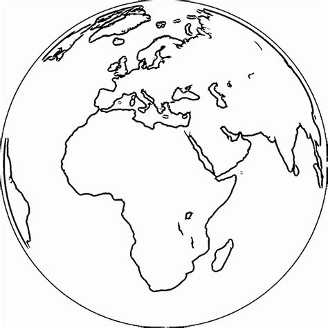 coloring pagesglobe pages globe coloring page of a globe