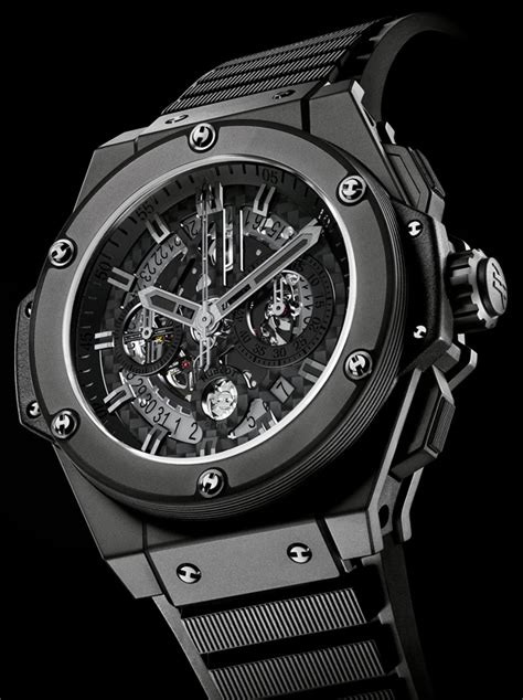 Lu Rx King hublot archive king power unico all black