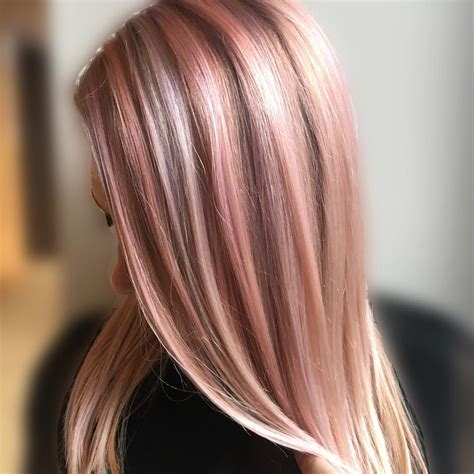 which hair color from sallys rose gold we re allll about the rose gold hair color by redken