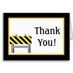 Thank You Letter For Construction 1000 Images About Construction Thank You Cards On Thank You Cards Construction And